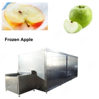 Buy cheap Stainless Steel IQF Tunnel Quick Freezer For Sale/Apples Frozen Machinery Suppliers from wholesalers