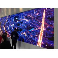 Buy cheap 1R1G1B Led Media Screen , Shopping Mall Led Display 1/32 Scan Mode 1.55mm from wholesalers