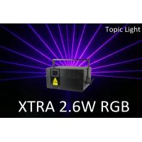 Buy cheap Pangolin Laser Show Club Stage DMX Control XTRA 2.6W Laser Light from wholesalers