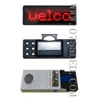 Buy cheap LED name badge led tag led mini board 100% led manufacturer sale Red 80*30*5mm pixel 7*29 from wholesalers