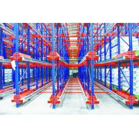 Buy cheap High Accessing Rate Radio Shuttle Racking , High Load Pallet Runner System from wholesalers