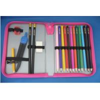 Buy cheap Factory wholesale high quality nylon school zipper pencil case from wholesalers