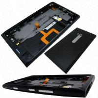 Buy cheap nokia lumia 900 replacementrear housing cover headphone jack speaker buttons black origina from wholesalers