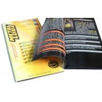Buy cheap OEM / ODM Saddle Stitching Catalog glossy lamination full Color Booklet Printing from wholesalers