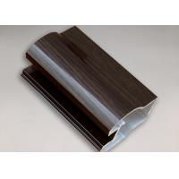 Buy cheap Customized Wood Effect Aluminium Window Extrusion Aluminum Door Frame Profile product