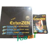 Buy cheap Sex Timing Capsule , Herbal Sex Male Enhancement Triple Extenzen Pills 24 capsules / box from wholesalers