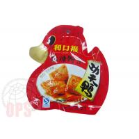 Buy cheap Die Cut Irregular Shaped Plastic Snack Food Grade Packaging Bags With Spout from wholesalers