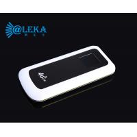 Buy cheap durable powerbank router super long standby time 4G LTE pocket mifi router from wholesalers