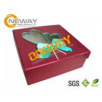 Buy cheap Printing Packing Corrugated Carton Box With Clear Window Full Color Printing from wholesalers