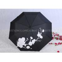 Buy cheap Creative Colour Changing Umbrella , Plastic Handle Fold Away Umbrella product