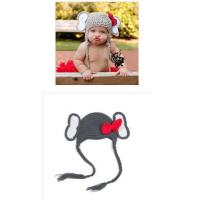 Buy cheap Cute Unisex Envelope Sleeping Bag Newborn Baby Photography Props Crochet Bonnets from wholesalers