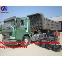 Buy cheap Factory sale best price CLW brand 36m3 dump tipper trailer, HOT SALE! high quality and good price dump tipper trailer from wholesalers