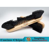 Buy cheap Casino Table Maple Wood Brush Dedicated Table Layout Cleaning Brush For Casino Gambling Poker Games from wholesalers
