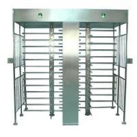 Buy cheap Door access control 304# Stainless steel full height Turnstile gates outdoor product