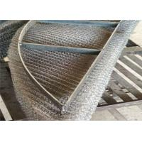 Buy cheap Mist Eliminator Mesh / Knitted Wire Mesh Rectangular Demister Pad Less Pressure Drop from wholesalers