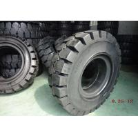 Buy cheap Black Solideal Forklift Tires , Pneumatic Forklift Industrial Tyres 8.25-12 from wholesalers