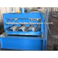 Buy cheap Building Metal Floor Deck Roll Forming Machine Manual Decking Forming Machinery from wholesalers