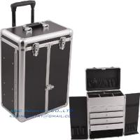Buy cheap Pro Makeup Rolling Case w/4 Drawers & Dividers from wholesalers
