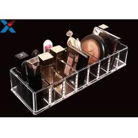 Buy cheap Clear Acrylic Makeup Organiser Display Box For Blush / Powder Foundation product