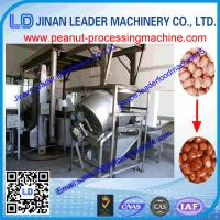 Buy cheap high quality Peanut Frying Machine Extruder Food Machinery Heating Continuous Fryer from wholesalers