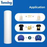 Buy cheap White Pu Printable Heat Transfer Vinyl For Hat T-shirt from wholesalers