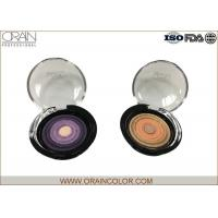 Buy cheap Multi - Colored Powder Professional Eyeshadow Palette With Beautiful Round Pattern from wholesalers