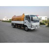Buy cheap ISUZU 700P 4x2 190hp 10000L  Vacuum Tank Truck sewage suction truck for sale from wholesalers