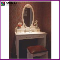 Buy cheap White Vintage Makeup Dresser With Mirror , vanity dressing table from wholesalers