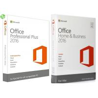 Buy cheap Microsoft Office Pro 2016 Office 365 Product Key Card  / OEM / Retail Version from wholesalers