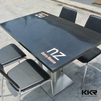 Buy cheap Court Solid Surface Dining Table , Restaurant Acrylic Dining Tables from wholesalers