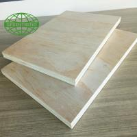 Buy cheap Pine  faced commercial plywood used for construction in 1220x2440mm from wholesalers