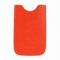 Buy cheap PU Sleeve for Mobile Phone, Promotional Gift Bags, Universal Sizing Are Accepted from wholesalers