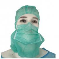 Buy cheap Breathable Surgical Hood Cap , Disposable Surgeon Cap Non Woven Light Weight from wholesalers