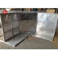 Buy cheap Aluminium Strong Concert Crowd Control Barrier With With Door / Corner Lightweight from wholesalers