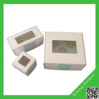 Buy cheap Customized clear plastic cupcake boxes,single cupcake boxes,cupcake boxes and packaging product