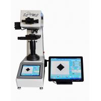 Buy cheap Fully Automatic Vickers Hardness Tester Large Touch Screen CCD System from wholesalers