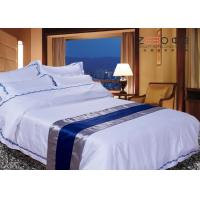 Buy cheap 300TC Textile Products Hotel Bed Linen Comfortable Plain Pure Color from wholesalers