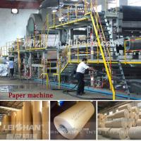 Buy cheap Competitive price 2400mm Kraft paper machine from wholesalers