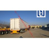 Buy cheap 2400X2500X1650mm Dimenssion 2 Axles Fuwa brand  13T * 2pcs Skeletal Container Semi Trailer 2.0 inch from wholesalers