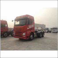 Buy cheap CA4180P66K2E 10 Wheels 6x4 Tractor Trailer Truck With 3600mm Wheel Base Euro Ⅲ from wholesalers