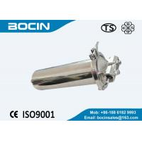 Buy cheap CE SS cartridge filter housing with pp string wound cartridge filter element from wholesalers