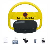 Buy cheap Waterproof Car Parking Lock Automatic Solar Panel Power Steel Rolling Frame Material from wholesalers