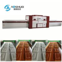 Buy cheap Membrance Laminating Wood Door Press Machine Woodworking Double Table from wholesalers