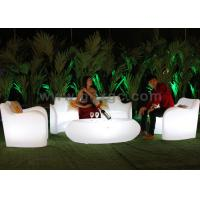 Starlish Brand Sofa,Plastic Lighted Sofa,Change Colors Via Remote Control for Hotel Room and Hall