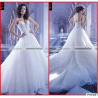 Buy cheap MS-002 Spaghetti Strap wedding dress beading sweetheart a line Wedding Dresses China from wholesalers