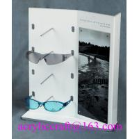 Buy cheap Plexiglass sun glasses display rack, acrylic display stand for glasses from wholesalers