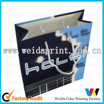 Buy cheap Pantone PMS / CMYK Popular Purple Retail Printed Paper Shopping Bags of 157gsm - 400gsm art paper from wholesalers
