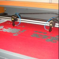 Buy cheap Clothing Embroidery Laser Cutting Machine Two Heads Professional Controlling from wholesalers