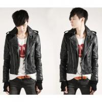 Buy cheap cream pu leather jackets for women from wholesalers
