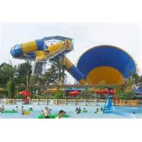 Buy cheap Anti - UV Space Bowl Fiber Glass Kids Water Slides Playground , Aqua Park Equipment from wholesalers